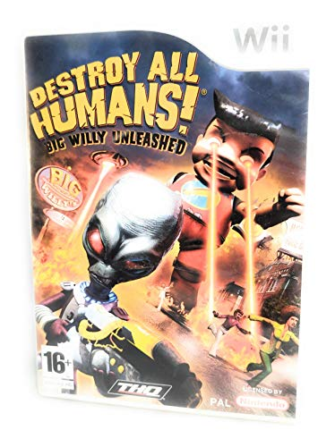 Destroy All Humans! Big Willy Unleashed (Wii) [import anglais] de THQ