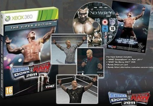 WWE Smackdown VS Raw 2011 - édition collector Viper de THQ