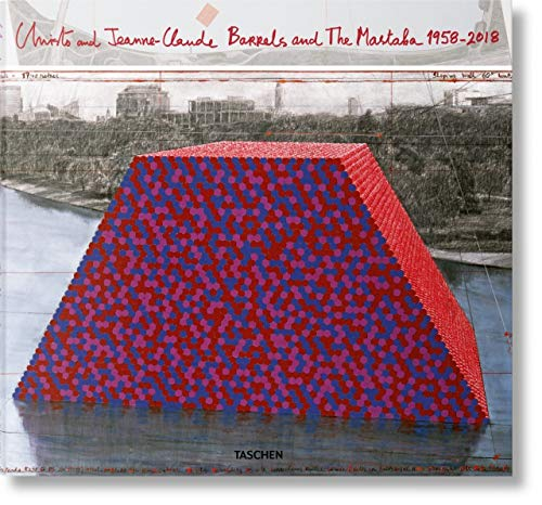 Christo and Jeanne-claude: Barrels and the Mastaba 1958-2018 de TASCHEN
