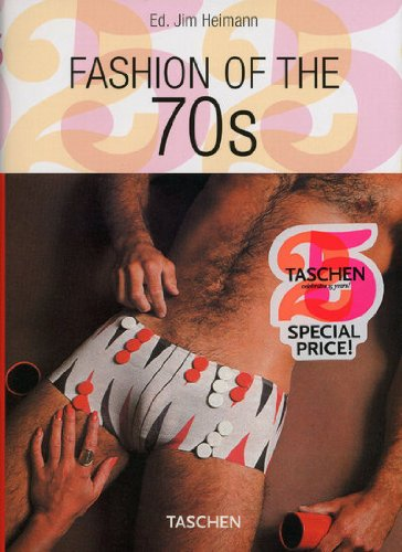 PO-25 FASHION OF THE 70S de Taschen