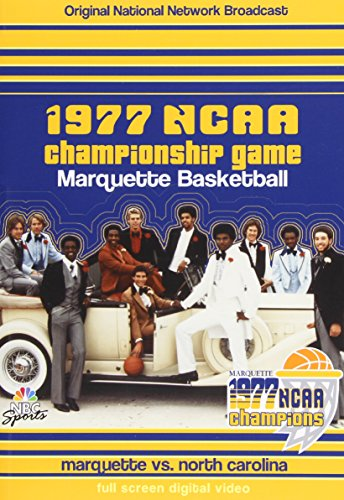 1977 NCAA Chamionship Game: Marquette Basketball [Import Italien] de Team Marketing
