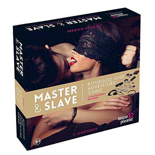 tease & please Jeu Master and Slave Premium Kit Tigre de Tease & please