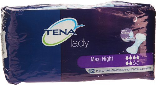 Tena - Lady Maxi - Night Protections pour Incontinence - x 12 de Tena