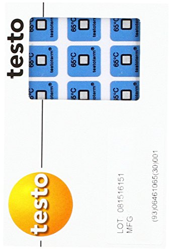 Testo – 0646 'Enregistrement Indicateur, 65 °C de Testo