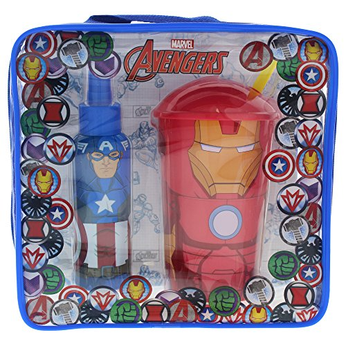 The Avengers Coffret Sac d'Eau de Toilette 100 ml + Verre de The Avengers