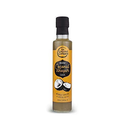 Vinaigre naturel de noix de coco bio -250ml-THE COCONUT COMPANY, Quantite:1 Bouteille de The Coconut Company