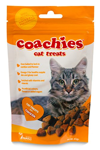 Coachies Cat Treats with Chicken de The Company of Animals