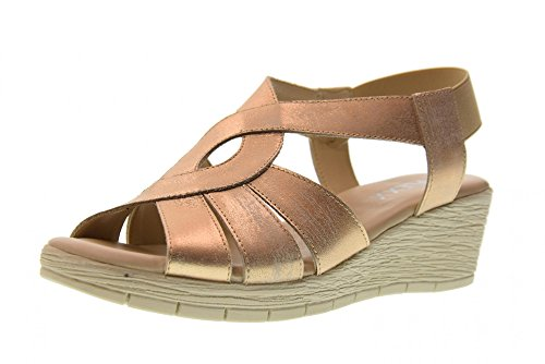 The Flexx Sandales Compensées pour Femmes 14401_13 AMARONES ORO Taille 39 Or EBhpmyWAOR
