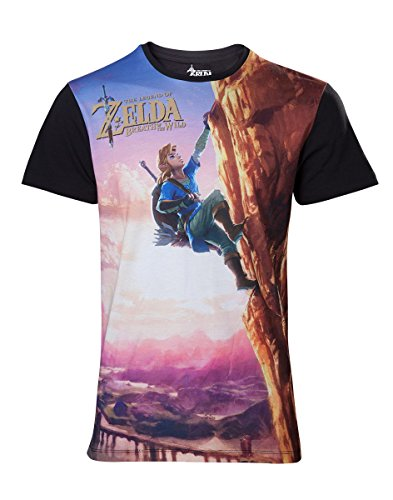 Zelda - T-Shirt - Breath Of The Wild All Over - Taille XL de Bioworld