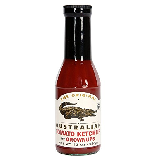 The Original Australian - Tomato Ketchup for Grownups - 355 ml de The Original Australian