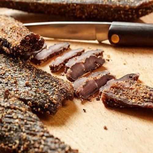 Biltong Chilli 1kg Sliced (Mild) de The Yum Biltong Family