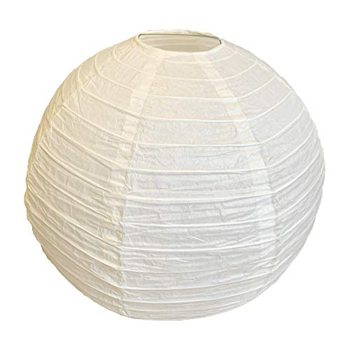 Thepaperbagstore 12 Crème/Ivoire Chinese Lantern Paper Taille Moyenne 30,48 cm de Thepaperbagstore