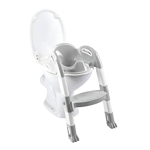 Thermobaby 2172587 All Kiddy Loo Trainer pour toilettes Blanc/Gris de Thermobaby