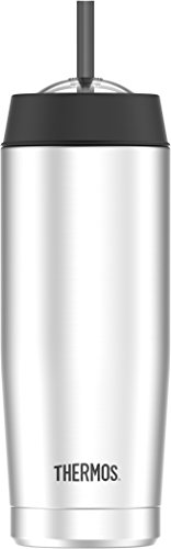 """Thermos 4029.205.047 isolierbecher Cold Cup, Steel 0,47l Gobelet isotherme, acier inoxydable, 7,6 x 7,6 x 24 cm, Acier inoxydable, acier inoxydable, 7,6  x  7,6  x  24,0 cm"" de Thermos"
