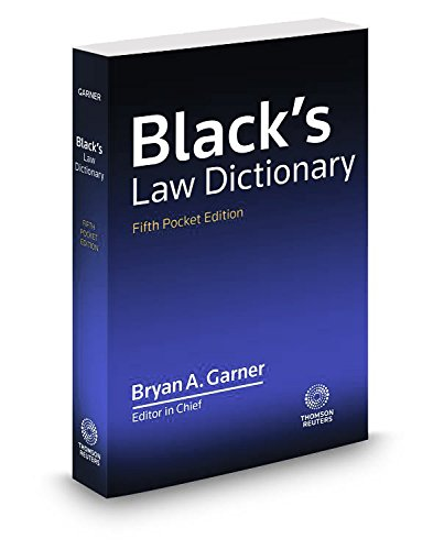 Black's Law Dictionary de Claitor's Pub Division