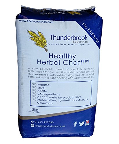 Thunderbrook Healthy Herbal invisibles 15 kg – Idéal pour chevaux de Thunderbrook