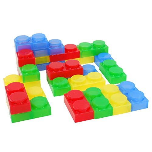 TickiT 54515 Silishapes doux Brick (lot de 24) de TickiT