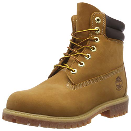 Timberland 6 In Nb, Bottes Classiques   homme, Jaune (Wheat), 46 EU de Timberland