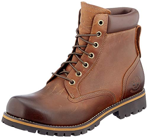 Timberland 6 In Wp Plain Toe Boot, Chaussures montantes homme, Marron (Golden Beige Roughcut), 47.5 de Timberland
