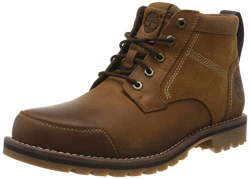 Timberland Larchmont, Bottes Chukka Homme, Braun (Oakwood FG and Suede), 42 de Timberland