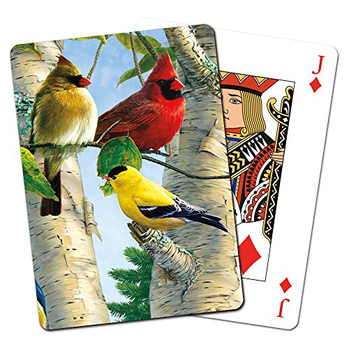 Tree Free sans de nombreux 49507 Songbirds Jeu de cartes à jouer de Tree-Free Greetings