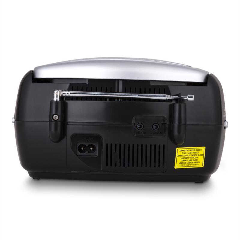 [OCCASION] - Trevi CD 512 Lecteur CD MP3 radio FM/AM AUX noir de Trevi