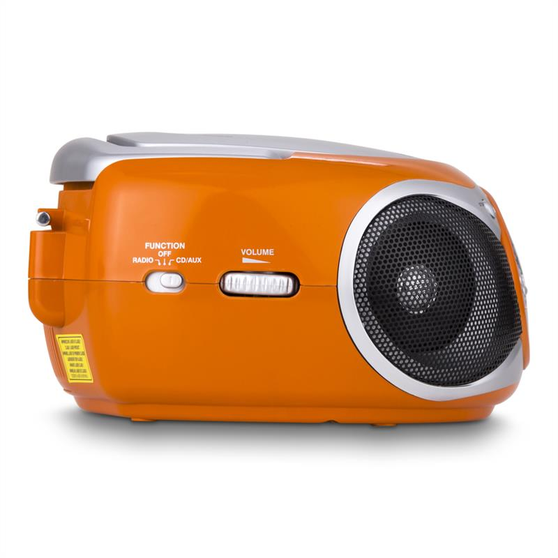 [OCCASION] - Trevi CMP 512 lecteur CD radio AM/FM AUX orange de Trevi