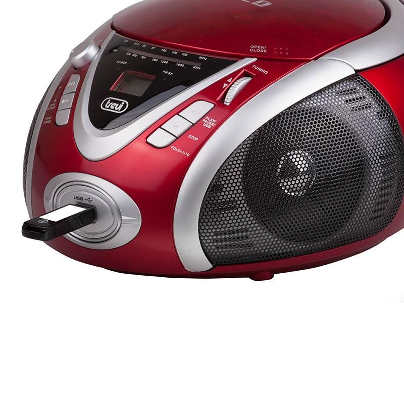 [OCCASION] - Trevi CMP-542 Ghettoblaster USB CD MP3 -rouge de Trevi