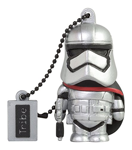 Tribe Captain Phasma Clé USB 8 Go Gris de Tribe