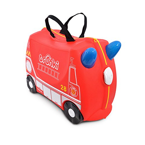 Trunki, Bagage cabine , Red (rouge) - 0254-GB01-UKV de Trunki