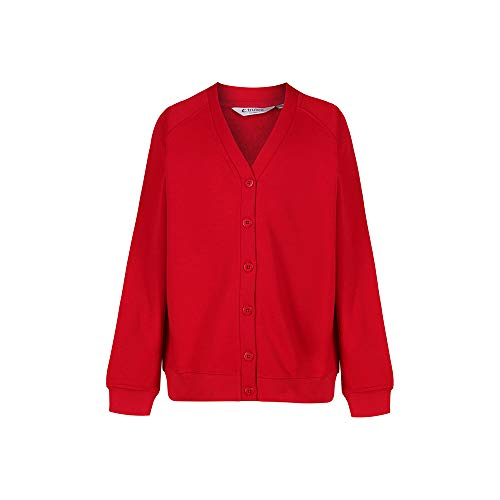 Trutex Limited 260G - Gilet - uni, Rouge (Scarlet) , 3-4 ans de TRUTH & FABLE