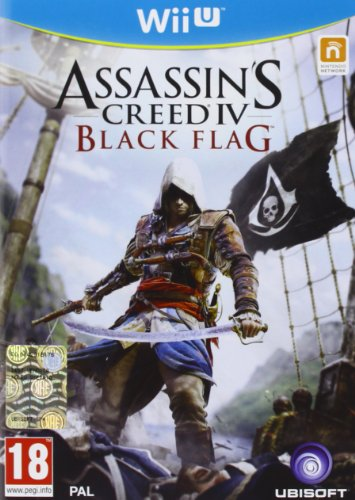 ASSASSINS CREED 4 BLACK FLAG WIIU de Ubisoft
