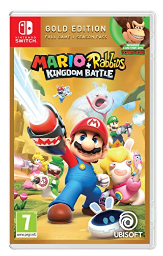 Mario + Rabbids Kingdom Battle Gold Edition Nintendo Switch Game de Ubisoft