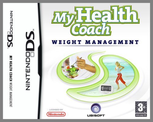My Health Coach: Manage Your Weight (Includes An Exclusive Pedometer) (Nintendo DS) [import anglais] de Ubisoft