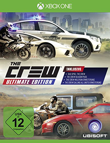 The Crew - Ultimate Edition [Import allemand] de Ubisoft