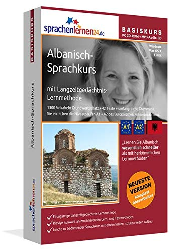 Sprachenlernen24.de Albanisch-Basis-Sprachkurs: PC CD-ROM für Windows/Linux/Mac OS X + MP3-Audio-CD für Computer /MP3-Player /MP3-fähigen CD-Player [import allemand] de Udo Gollub