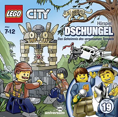 Lego City 19: Dschungel (CD) [Import Allemand] de Leonine (Sony Music Austria)