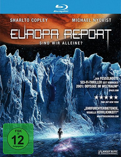 Europa Report-Blu-Ray Disc [Import anglais]