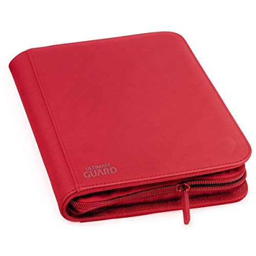 Ultimate Protection 4 xenoskin zipfolio (Rouge) de Ultimate Guard