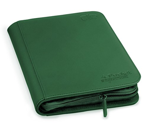 Ultimate Protection 4 xenoskin zipfolio (Vert) de Ultimate Guard