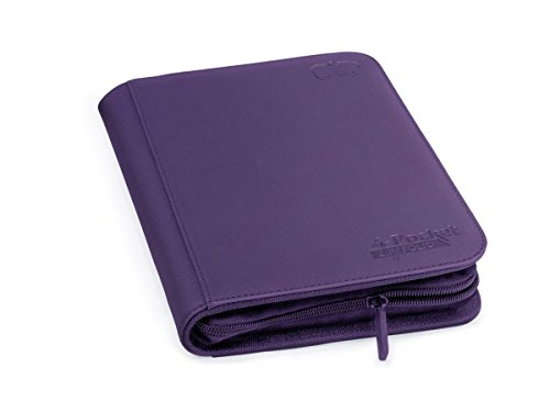 Ultimate Protection 4 xenoskin zipfolio (Violet) de Ultimate Guard