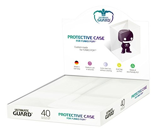 Ultimate Guard Ugd030016 Coque de protection pour figurines Funko Pop dans l'affichage de comptoir (40) de Ultimate Guard