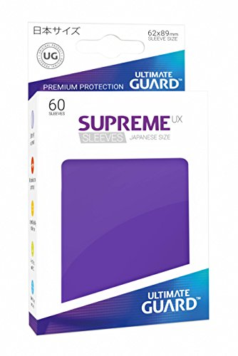 Ultimate Guard Supreme UX Sleeves Japanese Size Purple (60) Card de Ultimate Guard