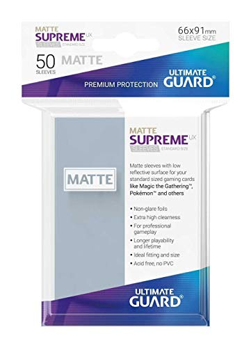 Ultimate Guard Supreme UX manches Jeu de cartes, Noir de Ultimate Guard