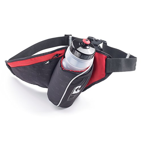 Ultimate Performance Performance ultime Ribble II d'hydratation Sac banane Taille unique noir/rouge de Ultimate Performance