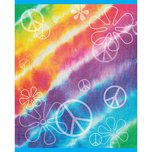 Unique Party Rainbow Tie Dye Sacs de fête, Lot de 8 de Unique Party
