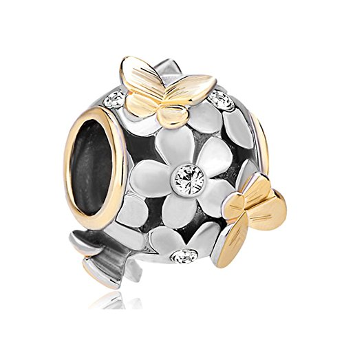 Uniqueen Fit Pandora Charms     Cuivre     Kristall de Uniqueen Fit Pandora Charms