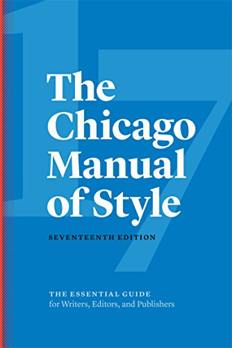 The Chicago Manual of Style de University of Chicago Press