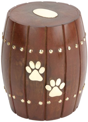 Urns UK Andover Urne funéraire pour animal de compagnie Marron de Urns UK