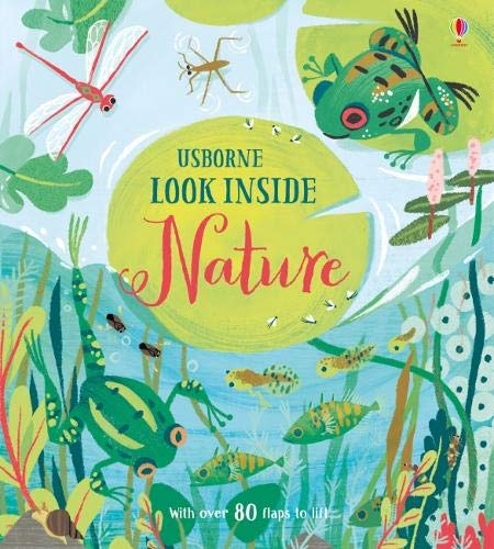 Look Inside Nature de USBORNE CAT ANG